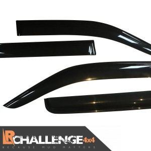 Wind Deflectors to fit Nissan Navara D40 2006-2015