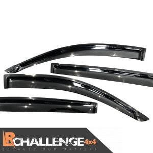 Wind Deflectors to fit Mitsubishi L200 Triton 2006-2015