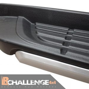 2012-2019 Ford Ranger Side Steps Silver / Black