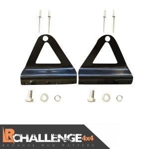 52″ Curved LED Light Bar brackets To Fit Nissan Navara D40 Brand New Design