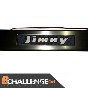 Blue LED Door Sill protectors Suzuki Jimny