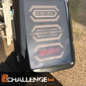 LED Rear Tail Lights to fit Jeep Wrangler Style 1