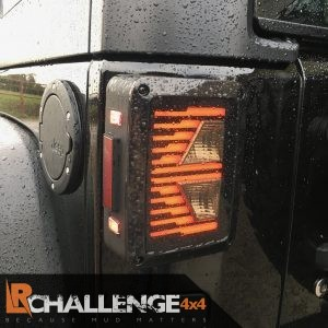 LED Rear Tail Lights to fit Jeep Wrangler Style 2