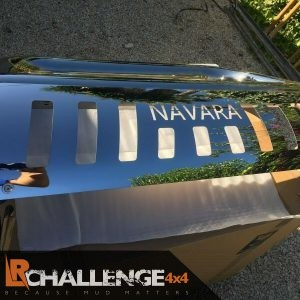 Stainless Steel Chrome Protection bar tofit Nissan Navara 2010-2015 D40 facelift