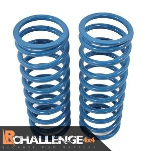 "Front +45mm 2"" lift springs Pair +208lb HD to fit Land Rover Discovery 2 TD5 & v8"