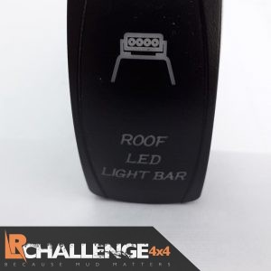 Incar LED Light bar Rocker switch Roof LED Light Bar Back lit Blue CE approved