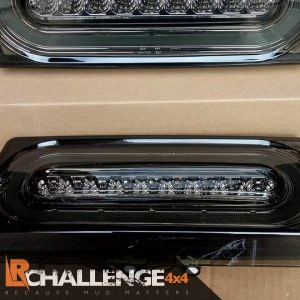 Smoked clear LED Rear lights to Fit Mercedes G Wagon W463 G500 550 55 AMG 86-15