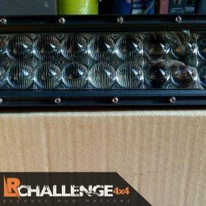 52″ 500 watt monster Osram 4D Led light bar best around Flat Tinted lenses ice white