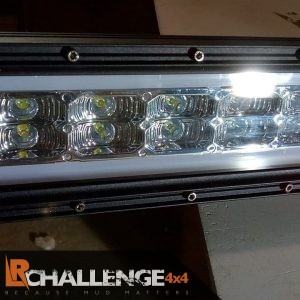 42″ DRL Daylight running light bar best around Flat ice white