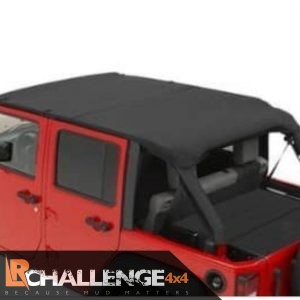 Canvas waterproof cover bikini top to fit Jeep Wrangler 5 door water proof and quick to remove or install