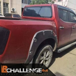 Wide Wheel arches too fit Nissan Navara D23 with ADBlue twin fuel caps 50mm wider 2016-2021