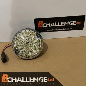 95mm Round led rear Reverse light to fit Defender Motorhome etc