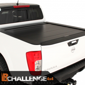 Black heavy duty Roller cover with lock to fit Nissan Navara D23 NP300 Shutter 2015-2021