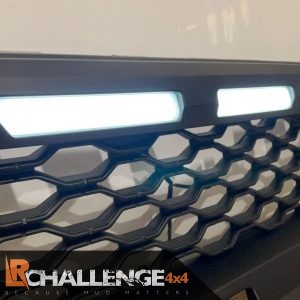 Angry Aftermarket Raptor Style Grill Black to fit Ranger T7 2016 – 2019 3.2 wildtrak Inc DRL
