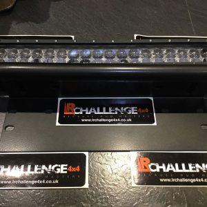 17.5″ Osram LED Light Bar & Universal Number Plate Bracket
