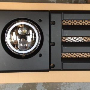 Grill Land Rover Defender with Headlights