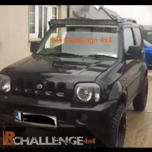 42″ LED Light Bar brackets to fit Above Screen Suzuki Jimny