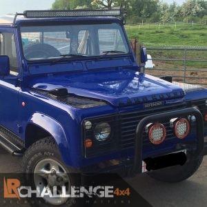 "50"" LED Light Bar Brackets Custom to Fit Gutters of Land Rover Defender"