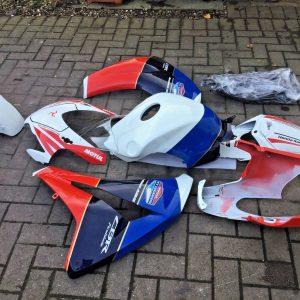 Fairing Kit HRC TT Legends Uk seller to fit 2008-2011 Honda CBR Cbr1000rr Fireblade