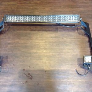 "2007-2017 Jeep Wrangler JK 52"" LED Light Bar Brackets"