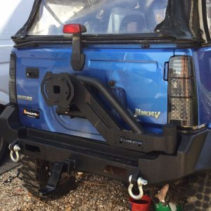1998-2017 Suzuki Jimny LED Rear Lights Smoked Finish