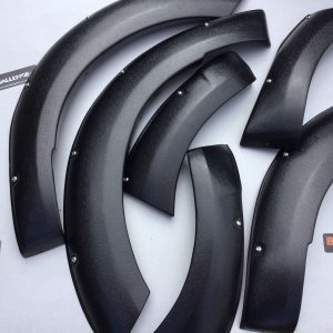 2016-2018 Wide Arches Fender Flares to fit Toyota Hilux Revo New Shape