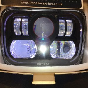 Jeep cherokee Black LED High Out Put Head Lights great quality DRL Super Bright
