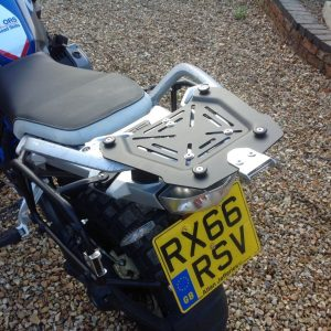 Metal Aluminium Black Panniers Top Box Racking Fit Bmw R1200GS – R1250GS 2013-2019