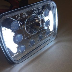 LED DLR Head Lights for Jeep Cherokee