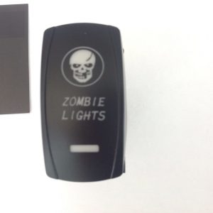 Back Lit Switch Zombie lights For LED Light Bar Spot / Work 12v Or 24v