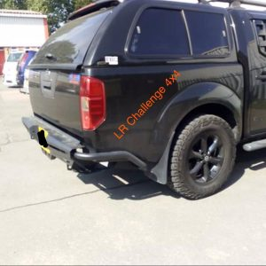 Rear Bumper Tow BarHD to fit Nissan Navara D40 2006-2015