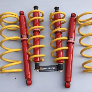 3″ Lift Springs With Big Bore Long Travel Shocks Y60 Y61 to fit Nissan Patrol