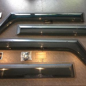 Wind deflectors to fit Jeep Wrangler JK 2007-2017 2 Door model