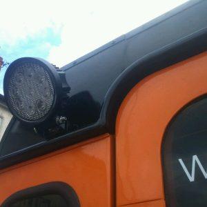 Defender LED Work Lights great quality Watt Land Rover Jimny Flood Pattern 12-24