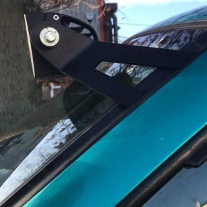 "LED Light Bar 42"" 400 Curved Window Brackets Full SetUp to fit Nissan Terrano 2"