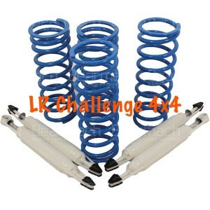 land rover defender 110 2'' Lift Kit Bearmach HD Springs & Pro Comp Shocks 510lb